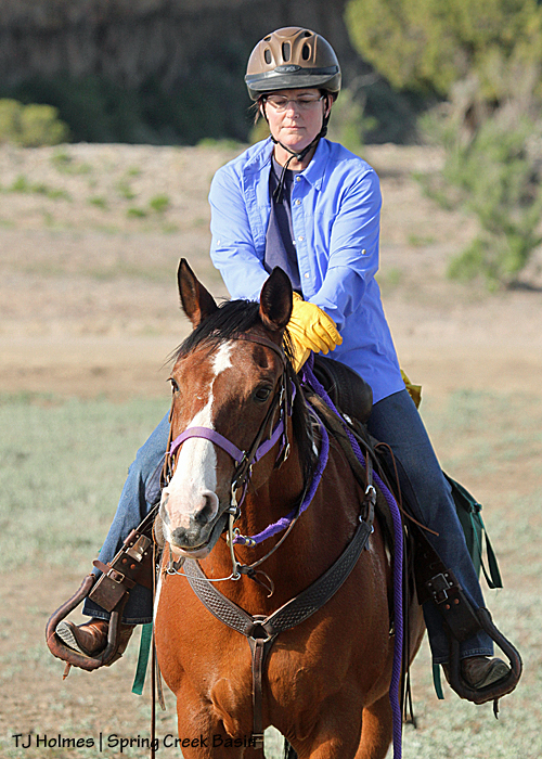 Cathy Roberts and Shenoah (sp?)