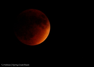 Super moon, blood moon, harvest moon ... lunar eclipse.The last one of this type occurred in 1982; the next one won't occur until 2033.